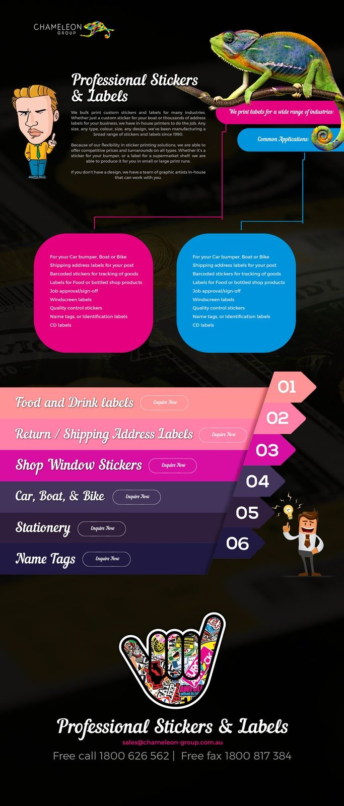 Unique Custom Sticker Printing Ideas On Pinterest Custom - Promotional custom vinyl stickers australia