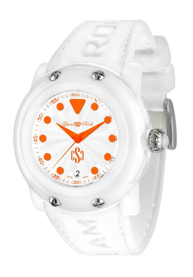 Price:$98.75 #watches Glam Rock GR61009, Add an understated look to your outfit with this unique and detailed Glam Rock watch.