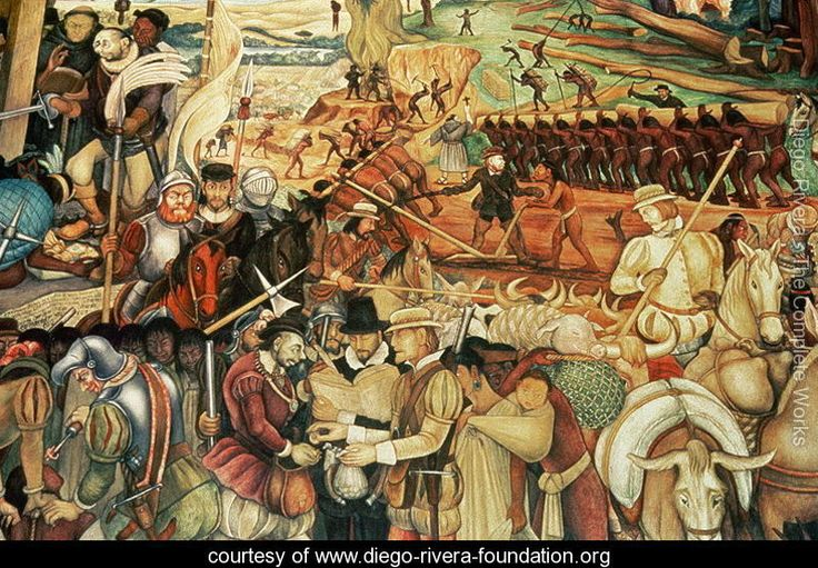 17 best images about diego rivera on pinterest mexico for Diego rivera la conquista mural