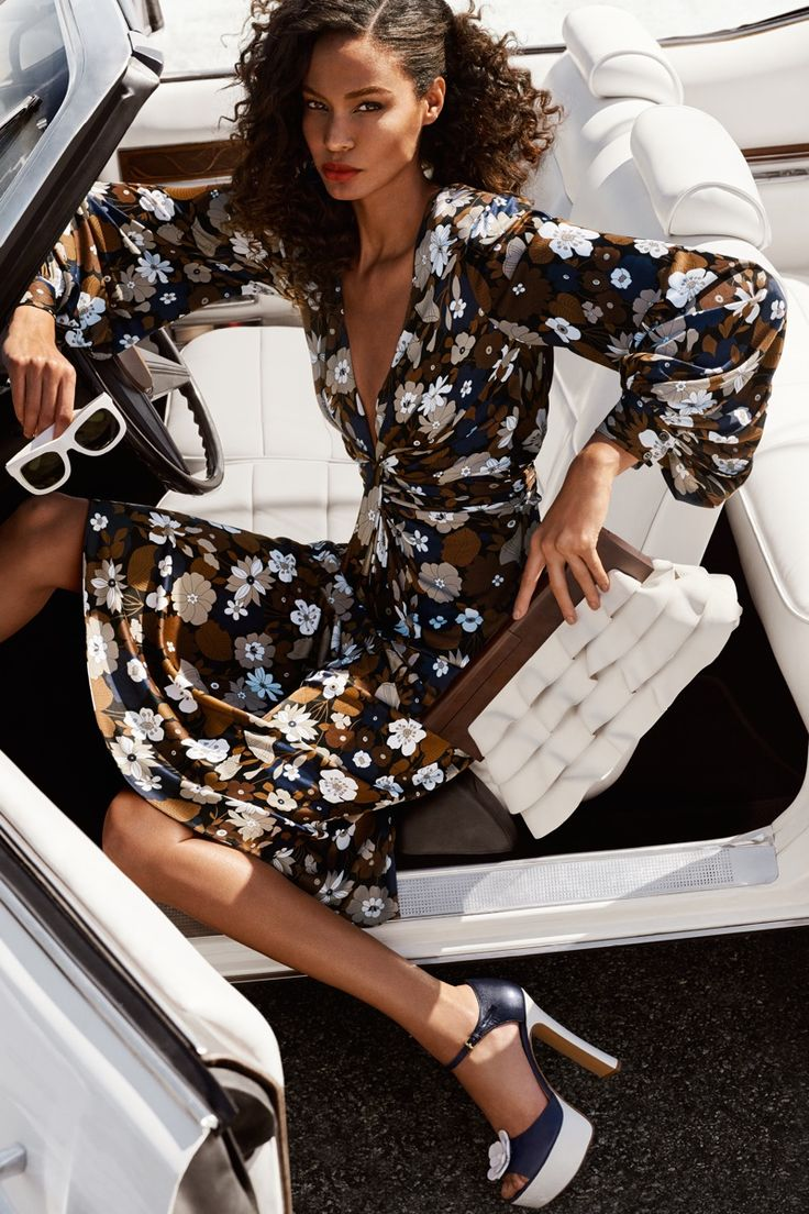 Joan Smalls stars in Michael Kors' spring-summer 2017 campaign