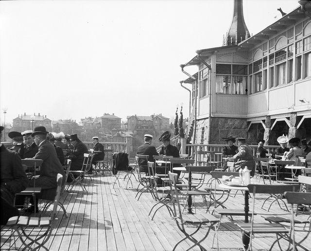Restaurant Klippan around 1906   Flickr - Photo Sharing!
