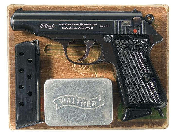 Walther PP (.32 ACP).