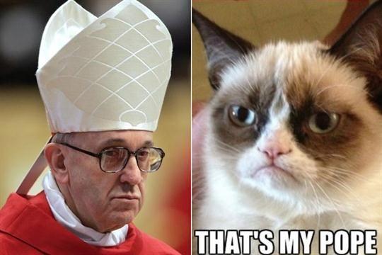 Los memes del nuevo Papa no se detienen  Los memes del Papa francisco.