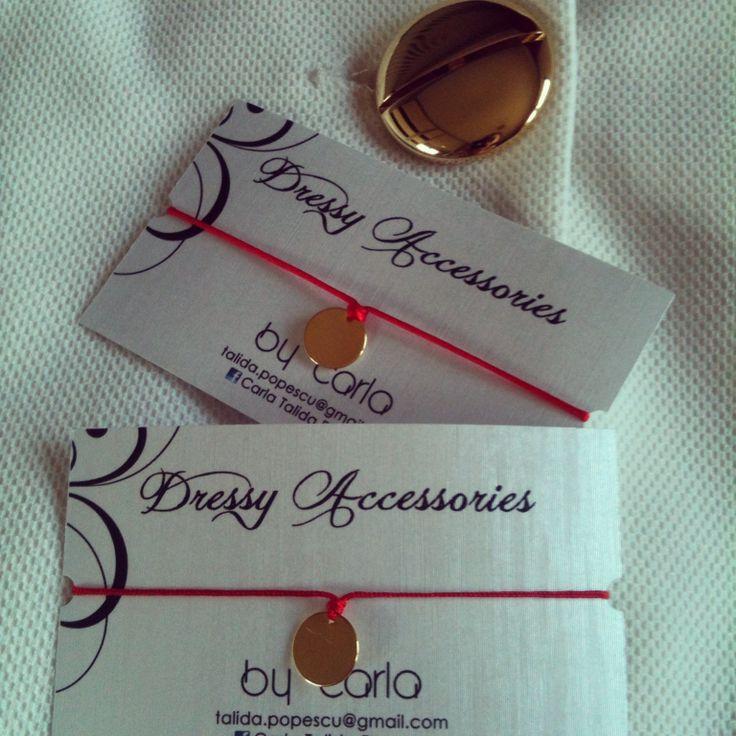 Golden details! Carla's Dressy Accessories CDA ❤