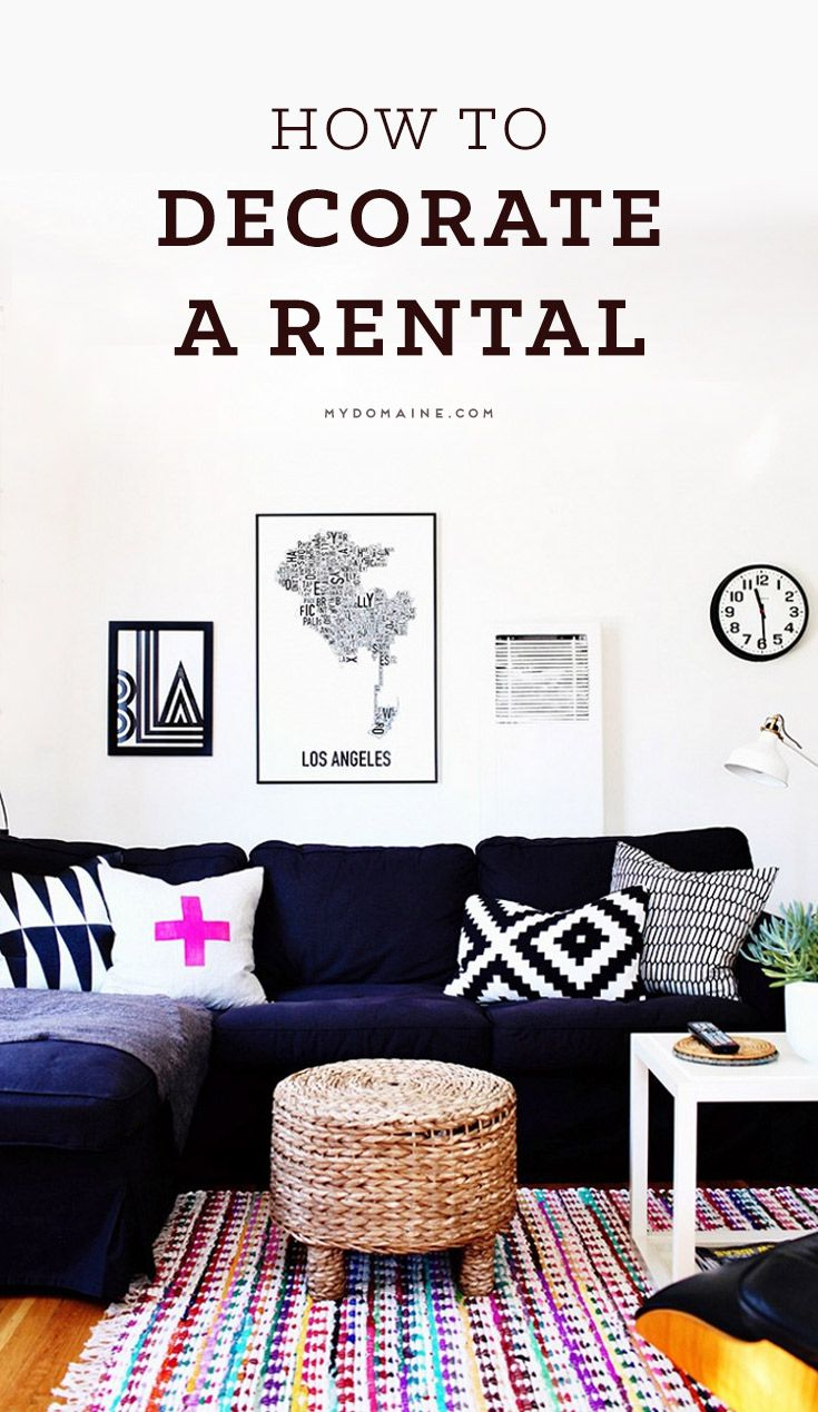 How to decorate your rental with personality and style