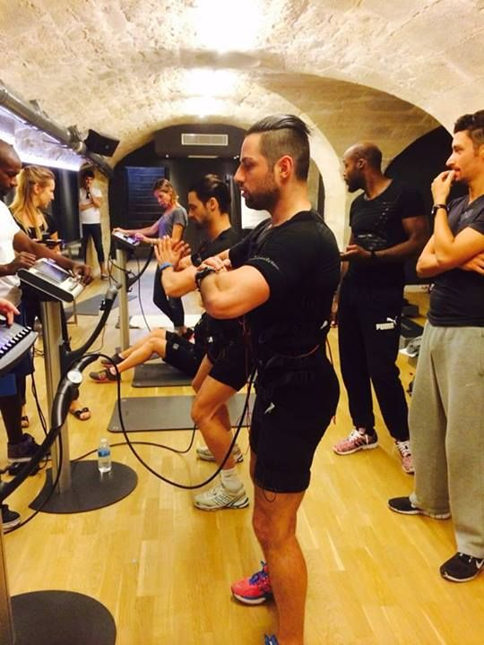 miha bodytec @Fitness Price VIP in Paris #mihabodytec #worldwide