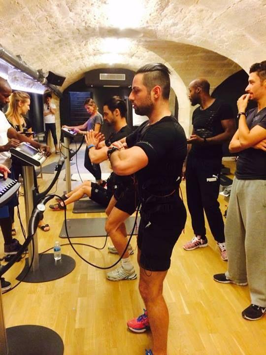 miha bodytec @Fitness Price VIP in Paris #mihabodytec #worldwide