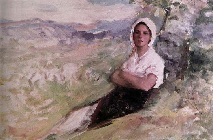 Sepherdess, Nicolae Grigorescu