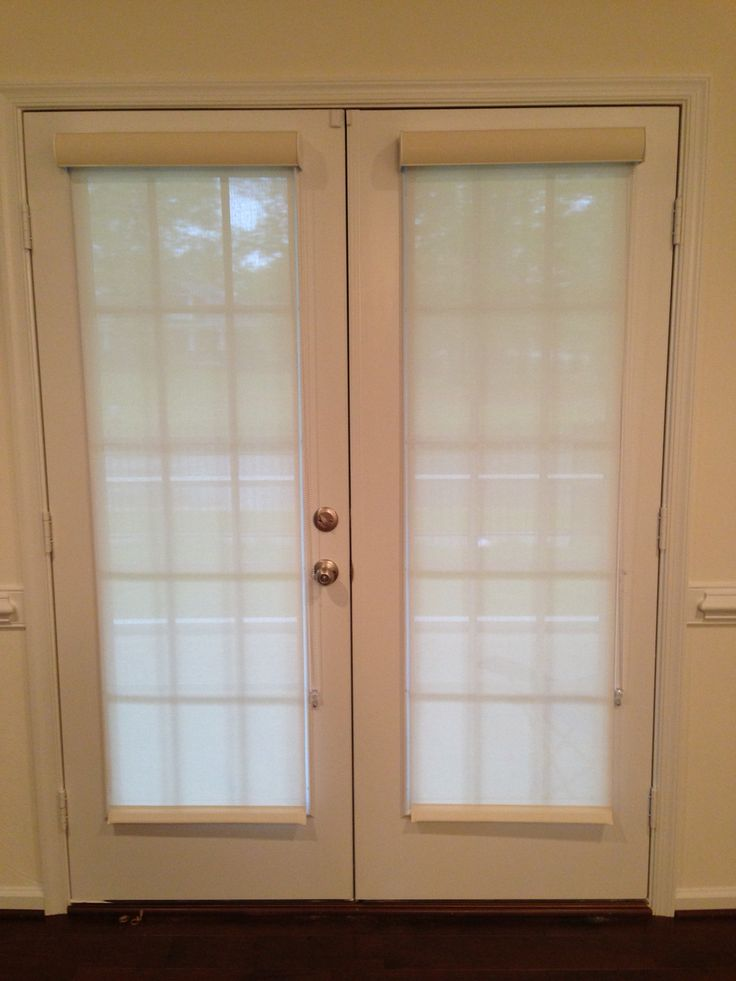 84 best cornerstone blinds images on pinterest sunroom for Roller screens for french doors
