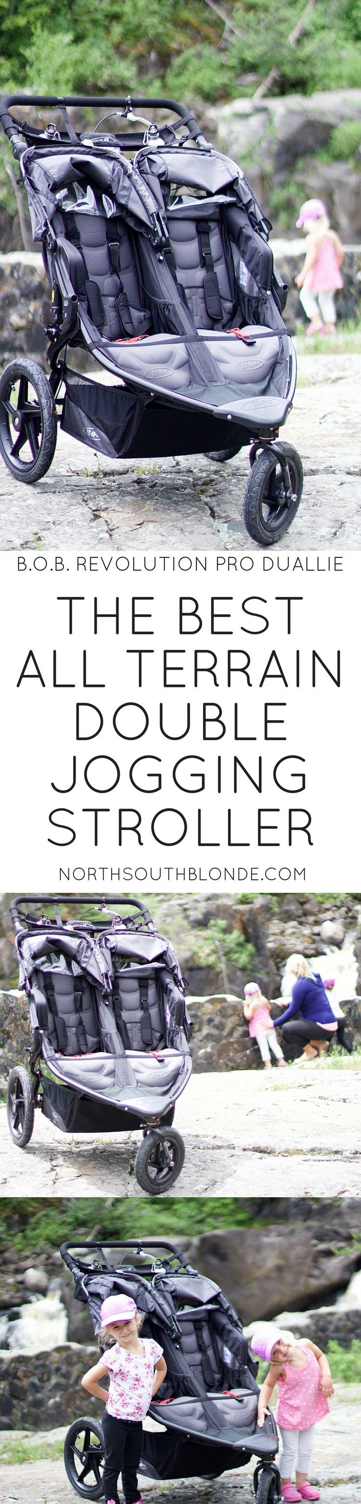Looking for the best all terrain double jogging stroller? The B.O.B. Revolution PRO Duallie is all you'll ever need. This review gives the pros and cons, and how well it performs on rough terrain. On the rocky trails of Kap-Kig-Iwan, a provincial park located in northern Ontario Canada, with 2 toddlers well over 30 lbs each. Health | Fitness | Postpartum | Weight Loss | Double Stroller | BOB stroller | BOB Duallie | Jogging | Running | Motherhood | 2017 Review | Parenting Tips | Parenting…