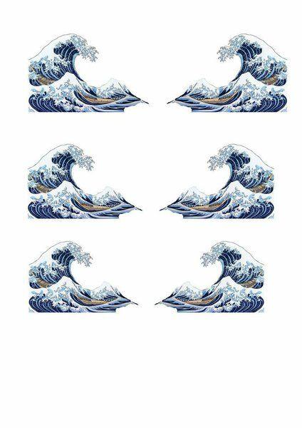 les motifs sont à télécharger sur le blog de Hilaydays http://hilaydays.com/diy_hokusai_collar/