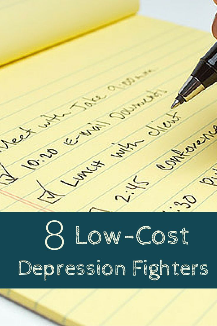 Low-Cost Depression Fighters