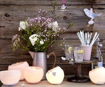 DIY: Wachswindlichter von LIVING AT HOME