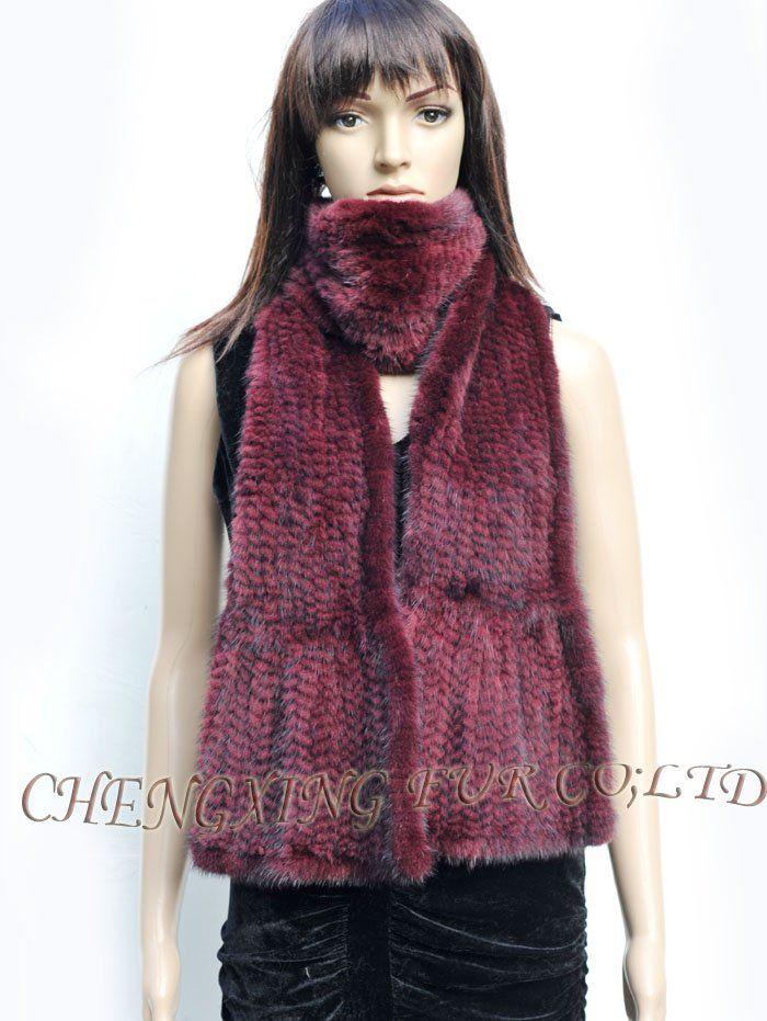 Cx-s-22f вязать европейская норка белл нижний мода шарф ~ прямая поставка