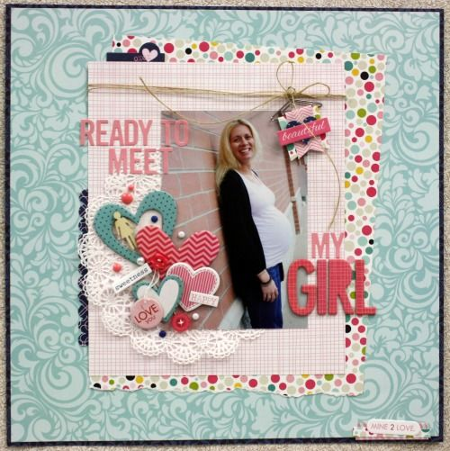 #papercraft #scrapbook #layout   Bella Blvd - Love & Marriage