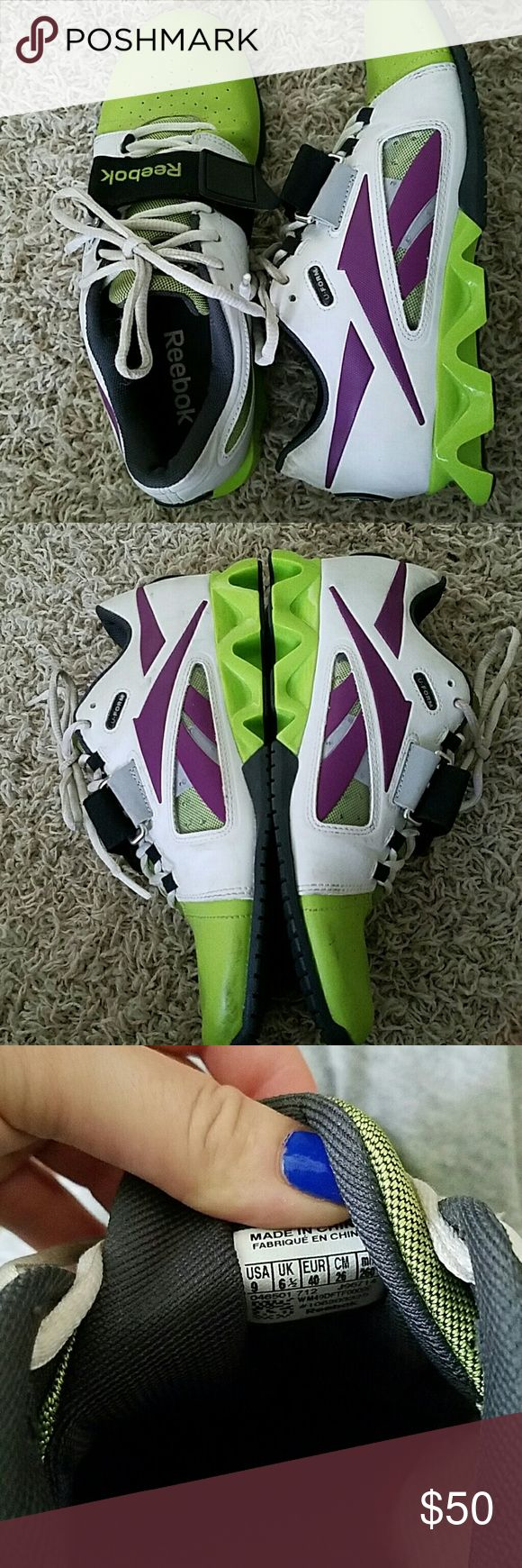 Reebok crossfit Olympic Lifters Olympic lifting shoe. Like new worn maybe 5 times Reebok Shoes Athletic Shoes