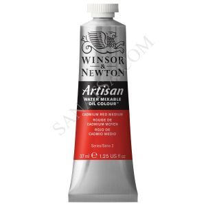 Winsor & Newton Artisan Su ile Karışabilen Yağlı Boya 099 Cadmium Red Medium