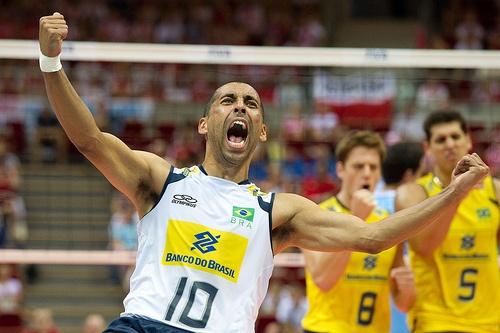 Sergio of Brazil Volleyball Team Fot. Mariusz Pałczyński / http://www.facebook.com/MariuszPalczynskiPhotography
