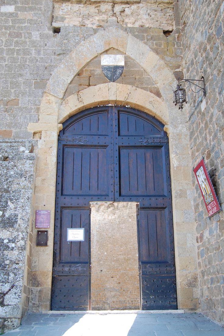 Montalcino, ingresso Fortezza