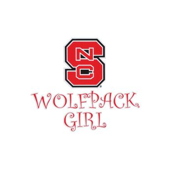 Nc State Wolfpack Girl Wolfpack Country Pinterest