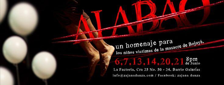 Obra Alabao Zajana Danza Design: Nicolás Altamar