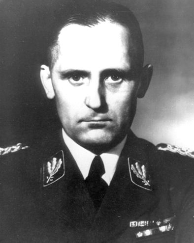 Heinrich Müller - SS-Gruppenführer und Generalleutnant der Polizei. Head of the Gestapo (Secret State Police) under Reinhard Heydrich as chief of the SiPo and later the RSHA. After the fall of Berlin, he disappeared and was never traced alive or dead despite efforts by both East and West.: 1945, Berlin, Nazi Germany, War Ii, Holocaust