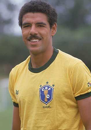 """Toninho Cerezo"" Antônio Carlos Cerezo (Brazil, 1977–1985, 57 caps, 7 goals)"