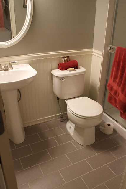 1000 images about bathroom colors and beadboard on for Bathroom designs 12x12