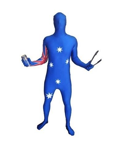 Australia Day morph suit