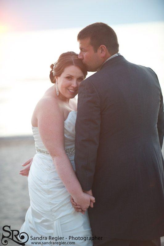 Sunset wedding portraits - Oakwood Inn - Grand Bend Ontario, www.sandraregier.com