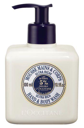 L'Occitane Shea Butter Ultra Rich Hand & Body Wash | Nordstrom
