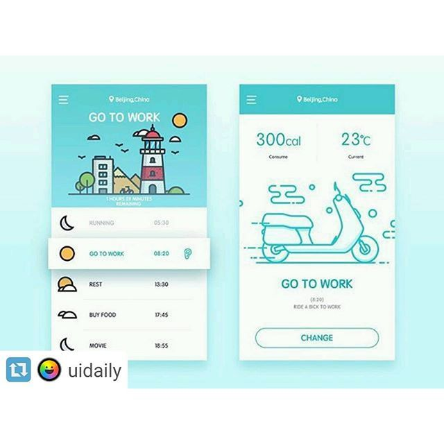 Repost @uidaily  #uidesign #ux #uxdesign #uxdesigner #uidesigner #iconography #interface #hcd #userinterface #ui #ios #materialdesign #dribbble #behance #apple #appdesign #icons #visualdesign #webdesign #webdesigner #animation #infographic