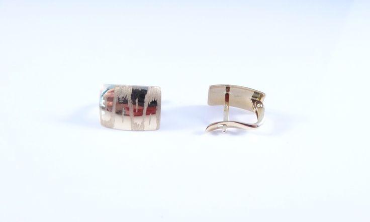 $136 14K Gold Earrings, info@bijuterie-online.ro.