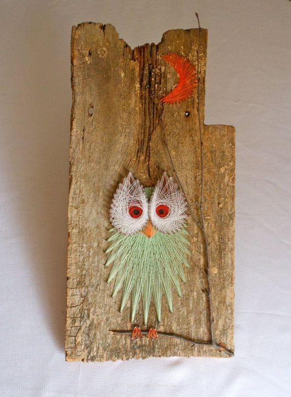 Vintage Owl String Art