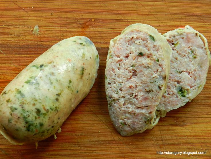 Stare Gary: Bockwurst - niemiecka kiełbasa cielęca