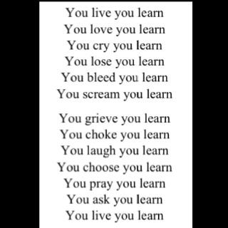 Alanis Morissette -You learn!