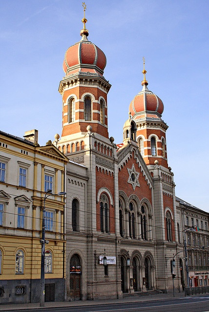 The Great Synagogue (Czech: Velká Synagoga) in Plzeň (Pilsen), Czech Republic is the second largest synagogue in Europe. It was erected according to the design of Emmanuel Klotz in 1893.