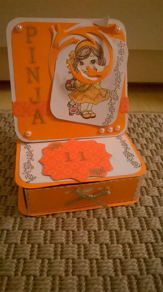 Card and box, by Nina
