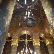 Interior Manastirea Argesului