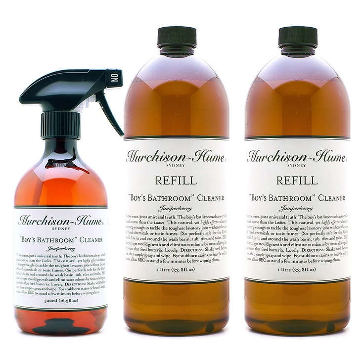 Boys Bathroom Spray Cleaner With 2 Refills   Murchison Hume   On Temple U0026  Webster