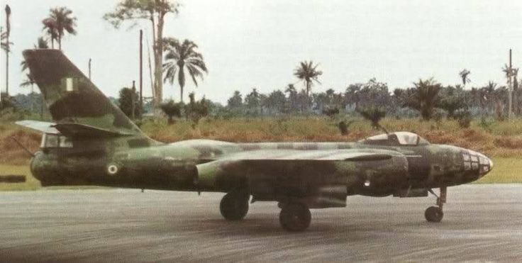 "british-eevee: ""Il-28 jet bomber of the Nigerian Air Force during the Nigerian civil war. """