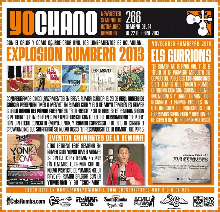SANT GAUDENCI Rumba Catalana: YOCHANO nº266