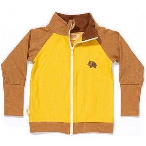 Albababy Calle zipper vest bruin