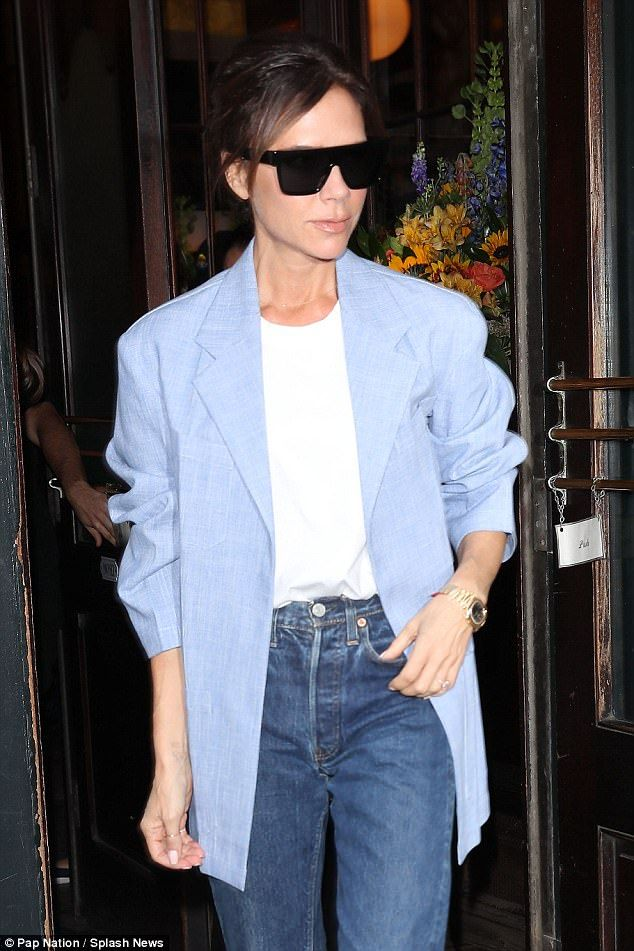 Keep the rays at bay in Victoria Beckham sunglasses #DailyMail Click to buy now