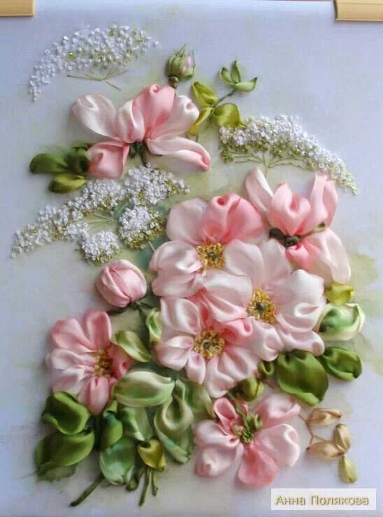 ❤︎ ~ My Love of Crafts ~ ❤︎ ✦ Ribbon Embroidery ✦ from my board: https://www.pinterest.com/sclarkjordan/~-my-love-of-crafts-~/
