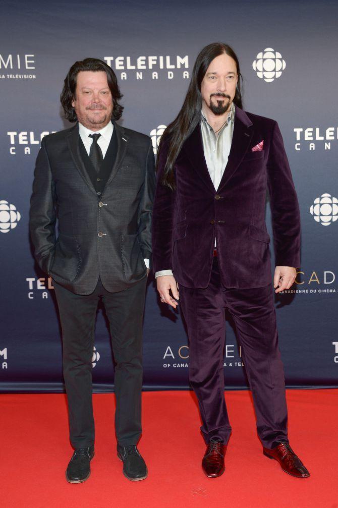 Paul Langlois And Rob Baker 2017 Canadian Screen Awards