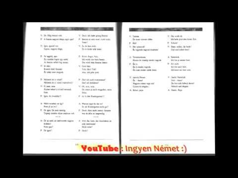 Német Magyar Lecke 9. - YouTube