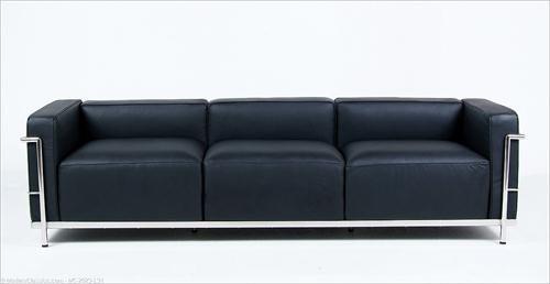 Le Corbusier- LC3 Grande 3seat sofa by Modern Classics Furniture on HomePortfolio