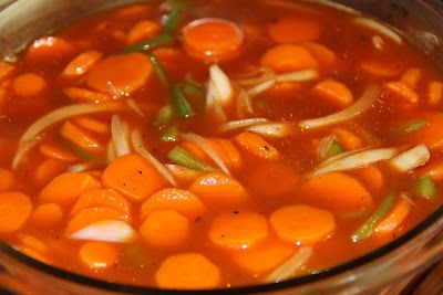 Deep South Dish: Copper Pennies Carrot Salad - Sweet and Sour Carrots