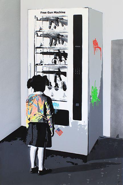 """KURAR street artist artwork named """" LIFESTYLE """" more details on ; kurar.fr/#home"""